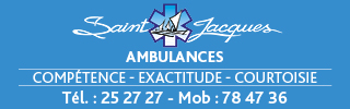 Ambulances Saint Jacques - bandeau 2